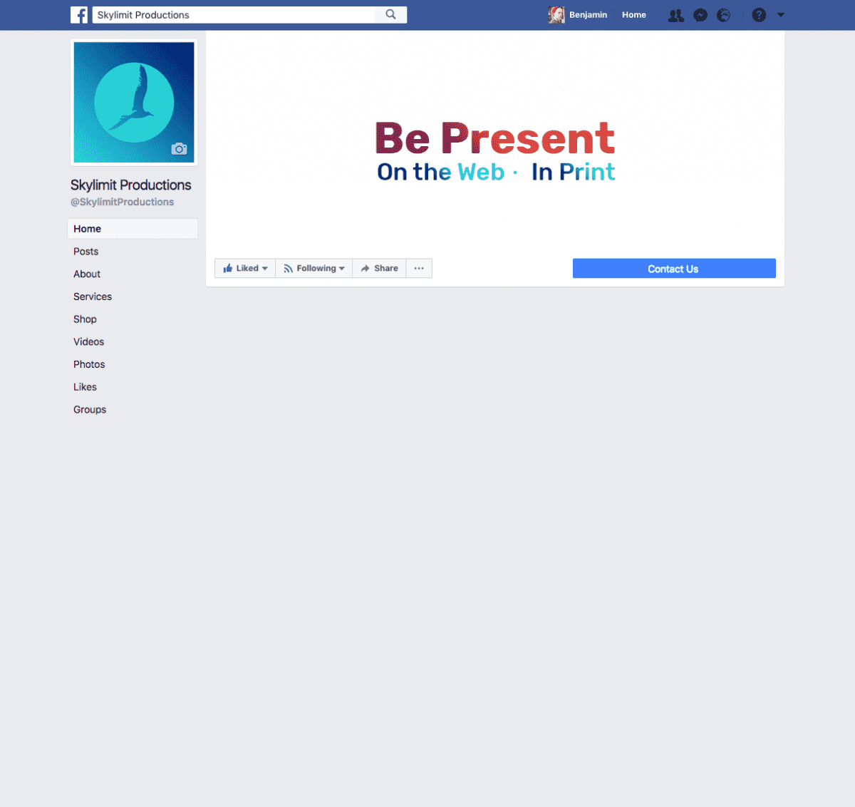 Facebook Custom Page Tab Area