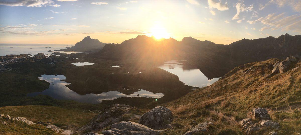 Vacation in Lofoten, Norway.