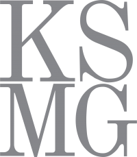 KSMG logo.
