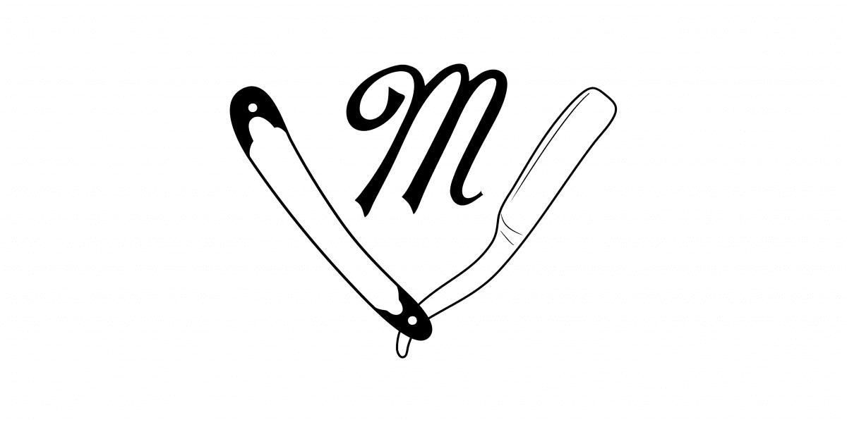 """The MacLaren Barbers """"M""""."""