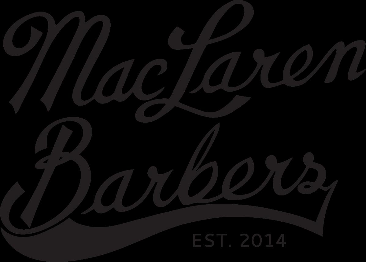 MacLaren Barbers logo.